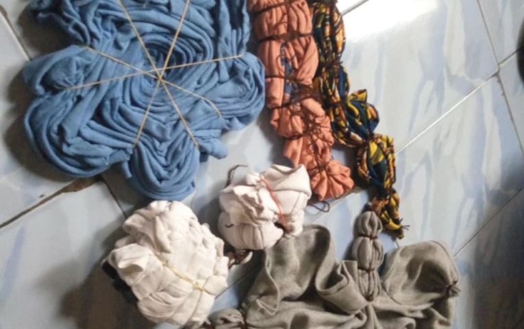 Steps of Making Adire Textile in Nigeria